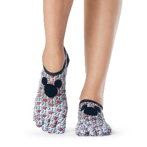 Disney 한정판 ToeSox Grip F/T Luna Love Mickey